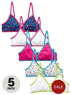 freespirit-girls-love-print-bright-starter-bras-5-pack