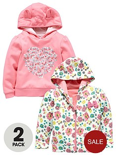girls-2pk-applique-lace-detailed-hoodies-with-3d-ears
