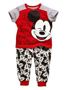 mickey-mouse-cuffed-pyjama