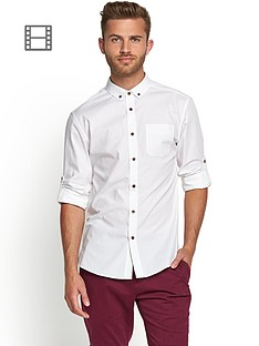 goodsouls-mens-long-sleeve-roll-tab-sleeve-cotton-poplin-shirt
