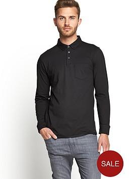goodsouls-mens-long-sleeve-slim-fit-jersey-polo-t-shirt