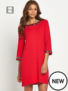 embellished-collar-and-cuff-dress