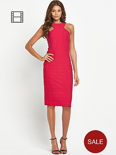 button-bodycon-dress