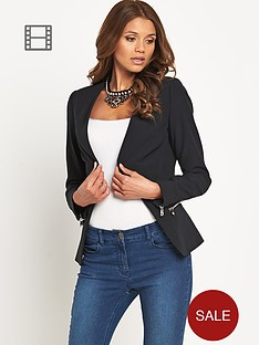definitions-zip-detail-blazer