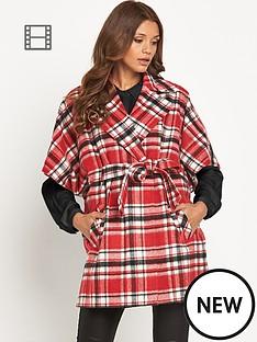definitions-check-blanket-coat