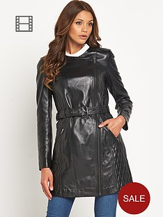 definitions-leather-trench
