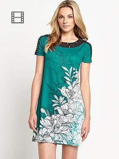 savoir-placement-print-tunic-embellished