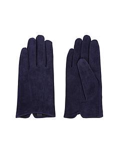 navy-suede-glove