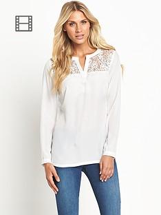 south-lace-yoke-blouse