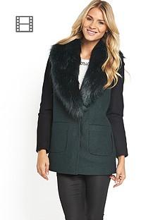 south-fur-collar-coat