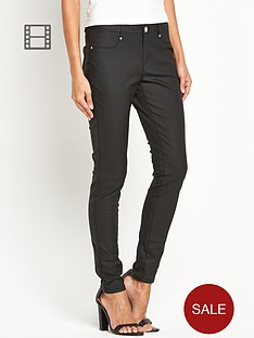 south-ella-leather-look-skinny-jeans