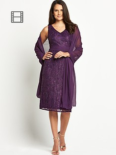 sequin-short-sleeve-midi-dress