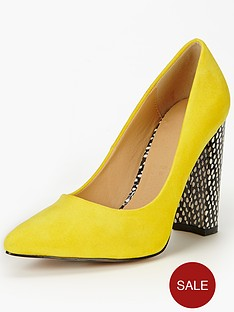 shoe-box-imogen-block-heel-court-shoes-yellow