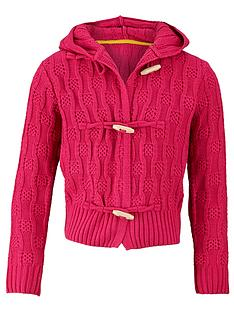 short-cable-knit-hooded-cardigan