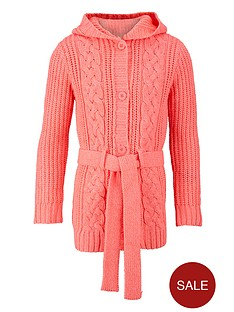long-line-neon-cable-knit-cardigan