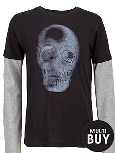 skull-print-tee