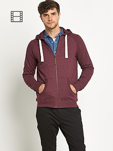 zip-thru-hooded-top-burgundy-marl
