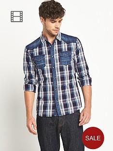 ls-laundered-denim-check-shirt