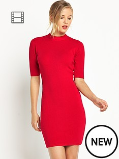 definitions-stretch-turtle-neck-jumper-dress