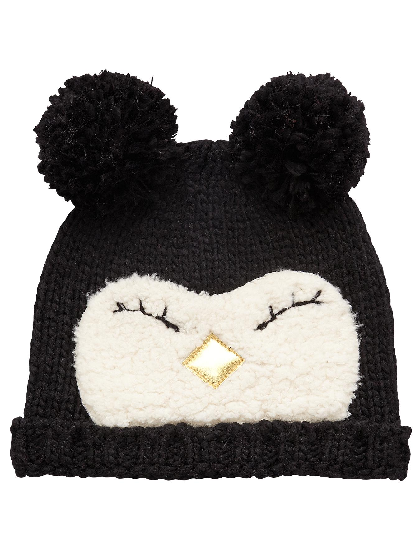 Penguin Hat, Black at Littlewoods