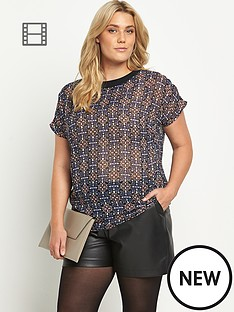 chiffon-print-sheer-shell-top