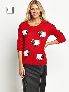 christmas-sheep-with-santa-hat-sequin-ju