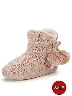 ruby-lurex-knitted-pom-pom-slipper-boot