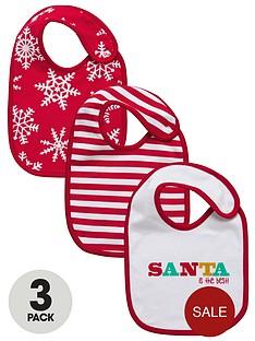 unisex-baby-christmas-santa-bibs