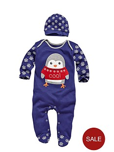 baby-boys-christmas-2-piece-fairisle-romper-with-ha