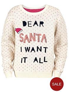 novelty-dear-santa-i-want-it-all-jumper