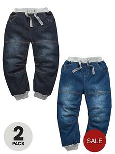 ladybird-boys-cuffed-jeans-2-pack