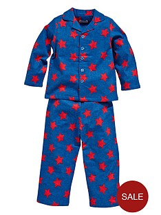 ladybird-boys-star-print-brushed-cotton-pyjamas-f