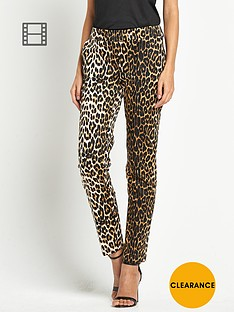love-label-animal-printed-trousers