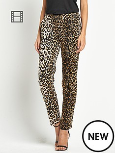 love-label-animal-printed-trouser