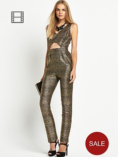 love-label-metallic-jersey-jumpsuit