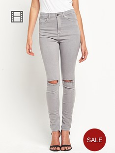 love-label-high-waisted-ripped-tube-jeans