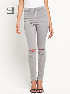 south-petite-highwaisted-ripped-tube-jeans