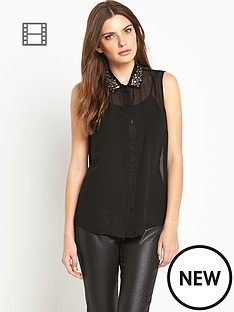 definitions-embellished-sheer-gem-blouse