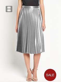 definitions-sunray-pleated-midi-skirt