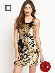 definitions-sequin-shift-dress