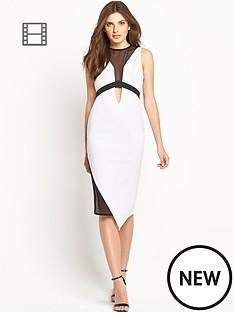 mesh-insert-dress