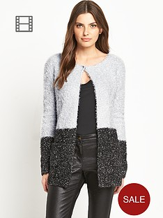 definitions-colour-block-tinsel-cardigan