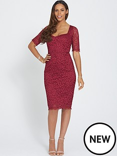 lace-34-sleeve-dress