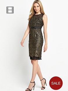 gold-guipure-lace-dress