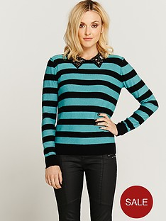 fearne-cotton-embellished-collar-jumper