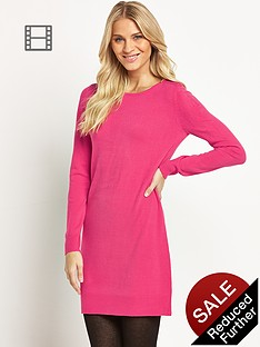 south-zip-shoulder-tunic-dress