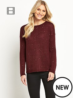 south-sequin-zip-jumper