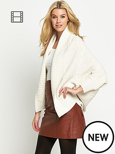 south-cable-oversized-cocoon-cardigan