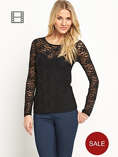 definitions-lace-sweetheart-top