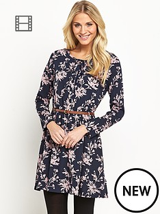 south-floral-print-casual-dress